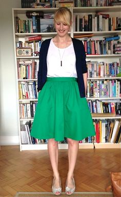 3. Dirndl Skirt - 7 Unbelievably Easy Beginner's Sewing Projects You'll Love to Try ... | All Women Stalk