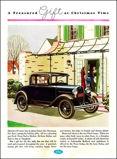 1930 Ford Coupe Ad