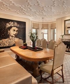 Inside the Plaza Hotel, the refurbished Astor Suite New York Apartments, Rental Apartments, Hotel Apartment, Plaza Hotel, Most Expensive, Hotels And Resorts, Dining Table, Nyc, Interior Design