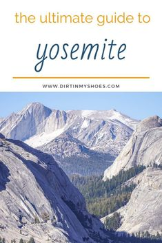 Are you planning a vacation to Yosemite National Park? Use this Ultimate Yosemite Trip Planning Guide to help make your trip amazing. Find tons of information you didn't even know you needed! From things to do in Yosemite to dog-friendly activities, hiking trails, itineraries, and more! Have a great trip! Places In California, California National Parks, National Parks Usa, Yosemite National Park, Hiking With Kids, Yosemite Valley, Best Hikes, Amazing Adventures, Dream Vacations