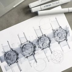 ⏱Which watch (1, 2, 3 or 4)? #watchdesign