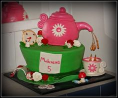 Mad Hatters tea party By Generations-creations on CakeCentral.com
