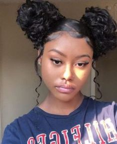 African American Natural Hairstyles for Medium Length Hair - Part 37