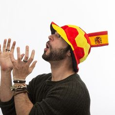 Cappello Pallone da Calcio con Bandiera della Spagna in Rilievo Th3 Party  2 e2abad845824