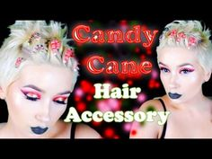 Crafting Candy Cane Hair Accesories | A Poisoned Production - YouTube