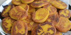 Dýňové pyré a placky Vegan Recipes, Vegan Food, Pretzel Bites, Sausage, Potatoes, Bread, Cookies, Vegetables, Crack Crackers