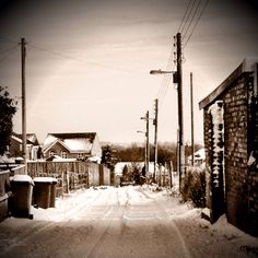 """The Brickyard"" Sharlston, Wakefield West Yorkshire 5th Feb 2012"