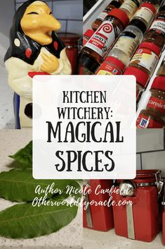 Herbal Witch, Witch Herbs, Magic Herbs, Herbal Magic, Kitchen Witchery, Kitchen Magic, Witchcraft, Magick, Wiccan Spells