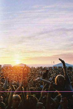 Sunny summer concerts, where the girls go barefoot and their hearts are as free as their toes.