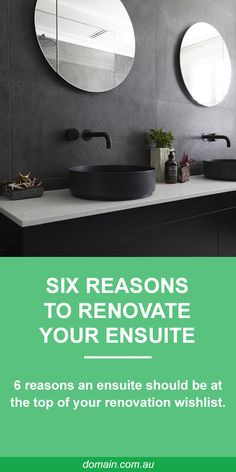 Traditionally the ensuite was a small utility room adjoining the master bedroom, but we've come a long way from using bathrooms simply for washing. Here are six reasons why an ensuite should be top priority.