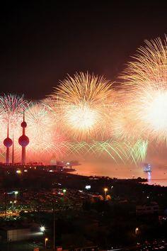 Free stock photo of city, night, explosion, firework