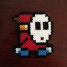 Shy Guy perler beads by kelsihobson