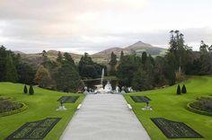 10 jardins colorés autour du monde | CHEZ SOI Photo: ©iStock #jardin #fleurs #couleurs #Powerscourt #Irlande