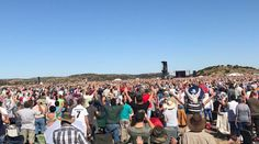 Massive crowds flocked to Bloemfontein in South Africa last week to hold the largest prayer meeting ever held in the nation's history. The gathering was led by renowned evangelist Angus Buchan, author of the book 'Faith Like Potatoes,' who called on believers to come together and pray for the country.