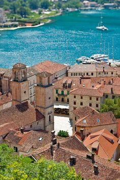 Montenegro, on the Adriatic Coast