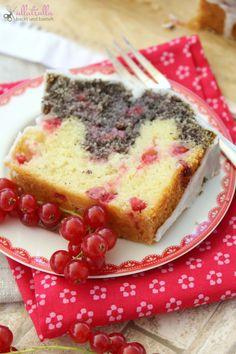 ullatrulla backt und bastelt: Danke Mama | Rezept für Johannisbeer-Mohn-Kuchen
