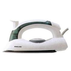 Removing wallpaper with an iron, i wonder if a hand steamer would work like this as well...