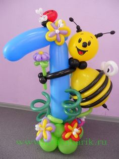 Balloon Centerpieces, Balloon Decorations, Birthday Decorations, Balloons And More, Number Balloons, Balloon Flowers, Balloon Bouquet, Balloon Wall, Balloon Garland