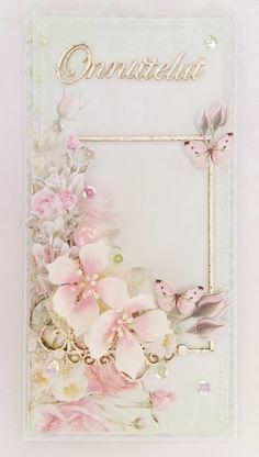 Intohimona askartelu: Hempeä kukkakortti Wreaths, Frame, Flowers, Decor, Picture Frame, Decoration, Door Wreaths, Deco Mesh Wreaths, Decorating