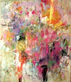 title unknown ~ oil ~ by joan mitchell