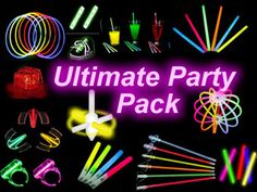 glow+in+the+dark+party | Ultimate Glow Party Pack | Glow in the Dark Party Supplier - glowkings ...