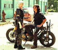 Carol and Daryl <3 Caryl on