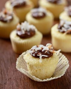 Coconut Nutella Cupcakes - Cupcake Daily Blog - Best Cupcake Recipes .. one happy bite at a time!