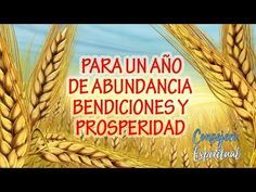 Oración para un año de Abundancia, Bendiciones y Prosperidad - YouTube