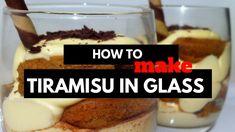 Tiramisu in Glass - How to make Tiramisu Cups #food #foodporn #recipe #cooking #recipes #foodie #healthy #cook #health #yummy #delicious