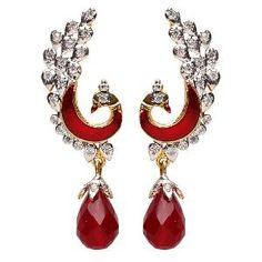 Jorie Bazaar Peacock Earrings