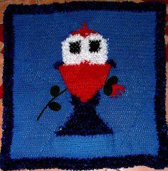 Crochet Blanket Pattern featuring Pukeko Measures by KraftyKiwis