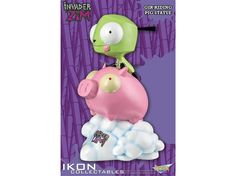 Gir On Pig Statue - Invader Zim Statues