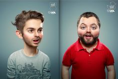 Kids Photoshopped to Look Like Creepy Little Adults
