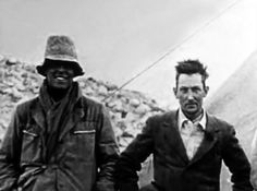 In 1924, George Mallory, an Englishman from Cheshire tried to climb Everest with his climbing partner, Andrew Irvine