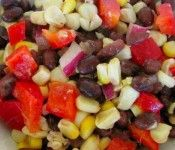 Healthy Basic Black Bean Salad