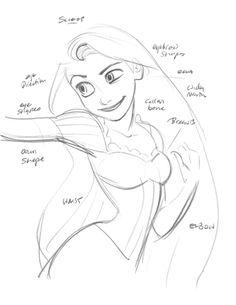 Tangled : Exclusive Original Drawings