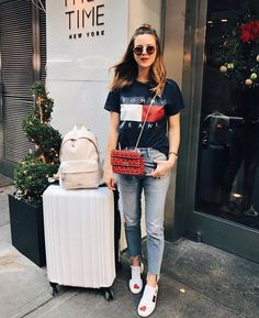 Travel style // #regram: @michelletakeaim #calpak #calpaktravels