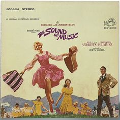 """""""The Sound of Music"""" is the soundtrack for the Rodgers and Hammerstein musical, based on the memoir of Maria von Trapp, """"The Story of the Trapp Family Singers"""". Many songs from the musical have become standards, such as """"Edelweiss"""", """"My Favorite Things"""", """"Climb Ev'ry Mountain"""", """"Do-Re-Mi"""", and the title song. This is the soundtrack album of the 1965 film adaptation starring Julie Andrews and Christopher Plummer. (Vinyl LP)"""