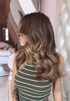 2017 Hair Color Trend: Balyaj 2017 Hair Color Trends: Balayage - New Hair Cut Hair Color Trends Balayage, Balayage Hair, Hair Trends, Haircolor, Honey Balayage, Hair Color 2017, Hair Color And Cut, Brunette Hair, Baylage Brunette