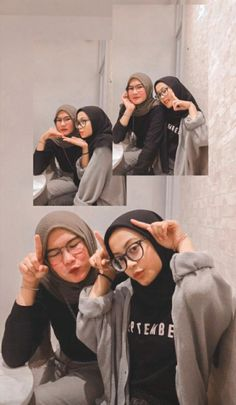 Couple Aesthetic, Aesthetic Girl, Best Friend Photography, Street Hijab Fashion, Hijab Fashion Inspiration, Ootd Hijab, Selfies, Girly Pictures, Best Friend Goals
