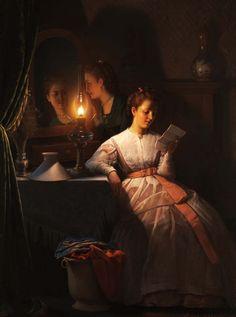 The Love Letter, Peter van Schendel. Dutch (1806-1870)