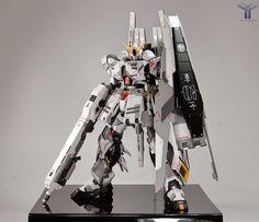 Custom Build: MG 1/100 RX-93 nu Gundam Ver Ka + HWS - Gundam Kits Collection News and Reviews