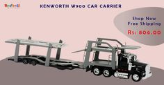 Shop for New Ray 1:43 Kenworth W900 Car Carrier Online at Redbell.com Order Now Free Shipping, COD Available, Easy Returns. ‪#‎Toys‬ ‪#‎Games‬ ‪#‎Redbell‬ ‪#‎onlinetoystore‬