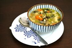 Healthy Family Dinner: Chicken and Vegetable Noodle Soup