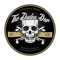 The Dudes Bar – Logo 2016 Bar Logo, Logos, Design, Logo, Design Comics