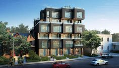 shipping container hotel - the containhotel by artikul architects Container Hotel, Container Design, Toronto Condo, Exterior Rendering, Container Architecture, Residential Complex, New Condo, Real Estate Services, Coastal Homes