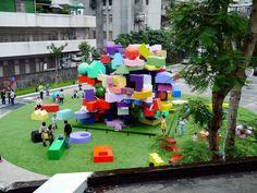 playground / MVRDV - VERTICAL VILLAGE TAIPEI