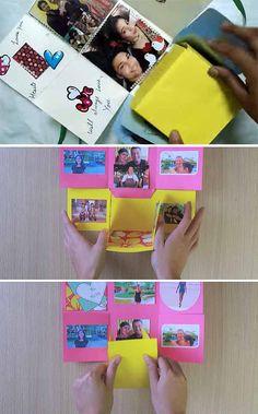 "Creative Valentine's Day Gift. ""Endless Love"" Photo Box Tutorial"