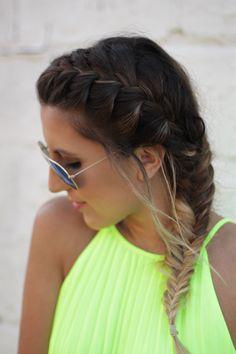 STEPHANIE STERJOVSKI her hair!