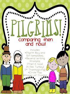 Pilgrim kids and Kids today!